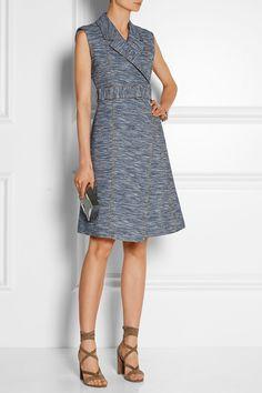 Jason Wu|Cotton-blend jacquard wrap dress|NET-A-PORTER.COM