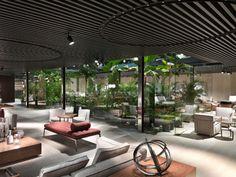 【 2017 米蘭家具展 】綠意當道,Flexform 將古羅馬式庭園風情直接搬進展覽現場!|MOT TIMES 明日誌