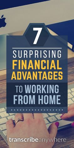 Interested in saving over $15,000/year by working from home? Of course you are! We've got 7 hidden ways to keep more money in your pocket.