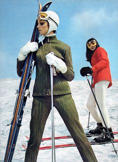Ski wear by Pindisports 1968