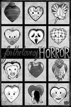 I love horror movies <3