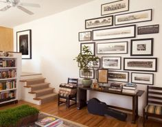 Living Room, Gallery Wall, Antique Prints, Art