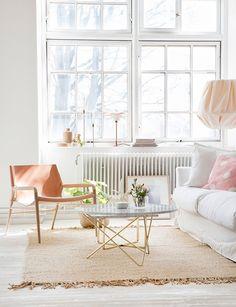 Casinha colorida: Tendências no estar: leveza e frescor