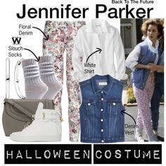 Inspired by Claudia Wells as Jennifer Parker in 1985's Back to the Future.