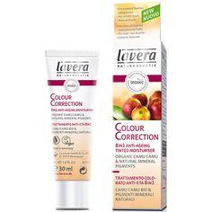 Lavera Organic & Natural Make Up - Colour Correction 8 in 1 Anti-Ageing Tinted Moisturiser