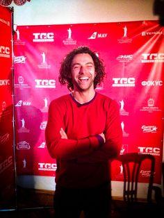 Aidan at the Odessa Film Festival - July 2014