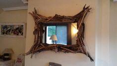 """Driftwood mirror  """"Artesonia costa del sol """" España"""