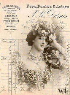 vintage lady Wil Bregman