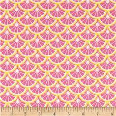 Camelot Pink Lemonade Lemon Slices Multi