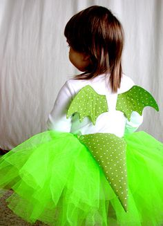 dragon costume, this one is super super cute for a girl! (Diy Costume)