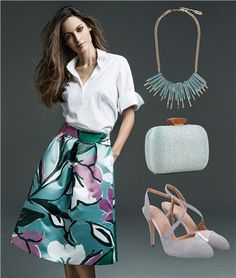 5 looks para ser la invitada perfecta a una comunión Outfit Bautizo, Casual Outfits, Summer Outfits, Elegant Outfit, Trending Outfits, Skirt Fashion, Looking For Women, Casual Chic, Body