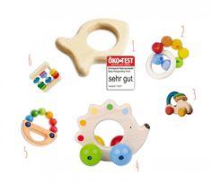 Holzspielzeug für Babys