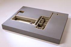 Architecture Community & Army combined by Reut Ino,  maquette, architectural model, maqueta, modulo