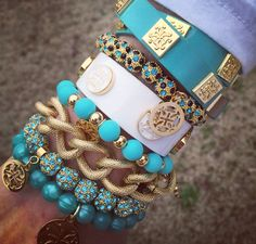 My Turquoise Stack