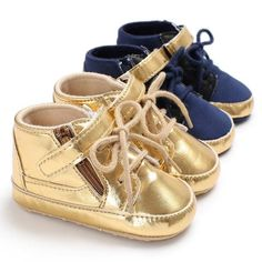 Raise Young Spring Autumn PU Leather Baby Sneakers Soft Soles Non-slip Newborn Baby Boy First Walkers Infant Toddler Footwear