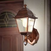 Hammacher Schlemmer - Early Spring Supplement 2016 - The Cordless Motion Activated Porch Light. Porch Sensor Light, Led Porch Light, Porch Lighting, Light Sensor, Outdoor Lighting, Lighting Ideas, Motion Lights Outdoor, Modern Porch, Porch Area