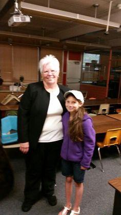 Student & teacher Provost Elementary school