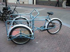 cargo bike, Amsterdam by anthro denver, via Flickr