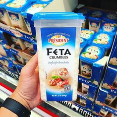 ❤️Love me some #feta #cheese @presidentcheese! Perfect for #salads #omelets #bruschetta ! On sale $2.55 off  now only $4.29 for 24 oz. #costco #costcodeals #deal ends 6/25 #instantsavings #coupons
