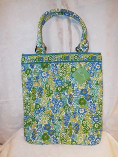 Vera Bradley English Meadow Slim Tote Bag New with Tags. Starting at $25