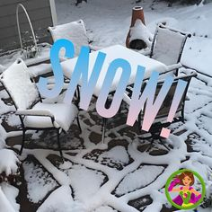 We had our first snow yesterday! It just makes everything fresh doesn't it?