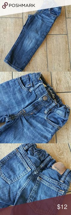 BABYGAP ORIGINAL JEANS 1969 original jeans Straight leg Clasp/zipper close Adjustable waist No thinning at knees No rips or stains Smoke free home GAP Bottoms Jeans
