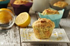gluten free lemon poppyseed muffin recipe. Full of flavor, moist, never gritty. That's the gfJules Flour, voted #1 by gluten free consumers 3 years in a row