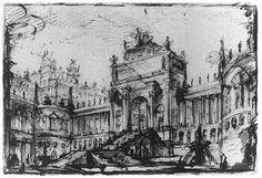 Giovanni Battista Piranesi, Architectural Fantasy