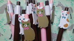 joli bic animal CHAT kawaii stationery fourniture scolaire