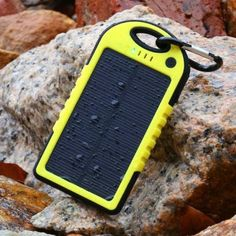 Levin™ Solstar Solar Panel Charger Rain/Dirt/Shockproof Dual USB Port Portable Charger Backup External Battery Power Pack for iPhone 5 iPad Air, Other iPads, iPods(Apple Adapters not Included), Samsung Galaxy Note Note Portable Solar Panels, Solar Energy Panels, Solar Panels For Home, Best Solar Panels, Solar Energy System, Solar Battery Charger, Solar Panel Charger, Solar Panel System, Solar Powered Phone Charger