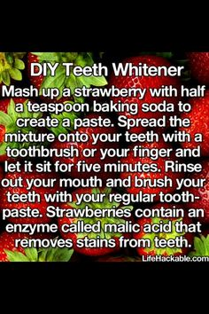 How To Whiten Your Teeth In 5 Mins