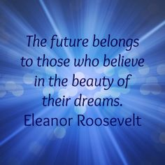 I love those quote by Eleanor. It applies to writers too, including #IndieAuthors.