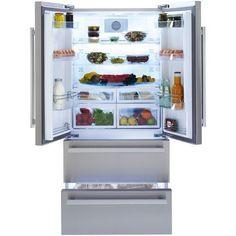 Beko GNE 60521 X pas cher prix promo Réfrigérateur américain Rue du Commerce à partir 828.67 € TTC au lieu de 1 190 €