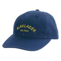 Just in case you need to be reminded how long we've been making functional workwear, try the Blaklader Cap on for size.