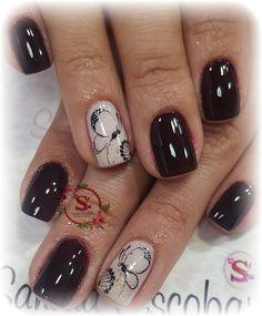 Cute Nails, Nail Designs, Polo, Beauty, Work Nails, Toe Nail Art, Pedicures, Feet Nails, Pretty Nails