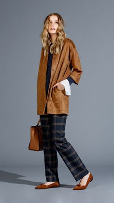LANIDOR.COM - Shop Online Ideias Fashion, Online Shopping, Duster Coat, Fall Winter, Trousers, Normcore, How To Wear, Jackets, Beauty