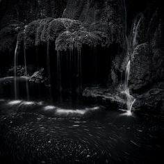"""Revolved Waters"" by Alexandru Crisan #nature #black"