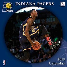 Indiana Pacers 2015 Calendar. NBA Basketball Calendars.