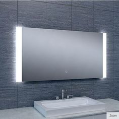 Badkamerspiegel Bracket 120x60cm Geintegreerde LED Verlichting ...