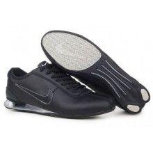 Nike Shox Rivalry Shoes Black Gray