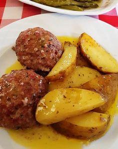 Cookbook Recipes, Meat Recipes, Cooking Recipes, Cooking Ideas, Greek Recipes, Desert Recipes, Minced Meat Recipe, Greek Cooking, Mince Meat