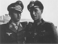 Walter Nowotny and his brother Hubert Nowotny.