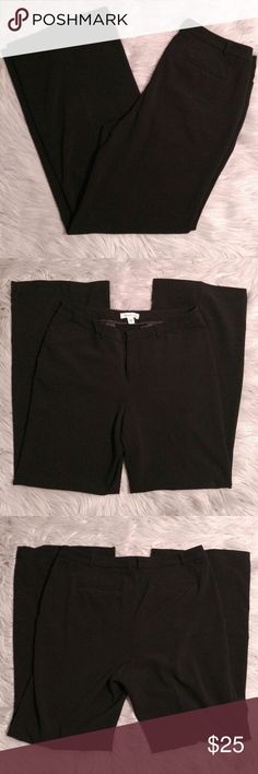 """Coldwater Creek Black Slacks Coldwater Creek Black Slacks  Size 10 16"""" waist 32"""" Inseam Excellent condition! I ship the same or next day depending on if the post office has closed yet. Please let me know if you have any questions, happy poshing! Coldwater Creek Pants Trousers"""