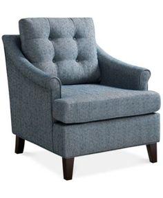 Charleston Tufted Club Chair, Direct Ship | macys.com