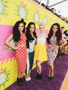 Little Mix at the Kid's Choice Awards