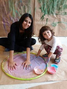 Mom and child activities at FreeBees