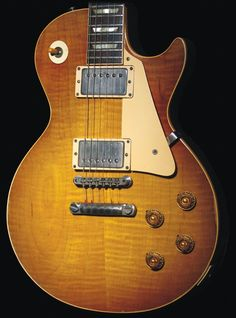 The holy grail of guitars. Gibson Epiphone, Gibson Guitars, Vintage Electric Guitars, Vintage Guitars, Guitar Rig, Cool Guitar, 1959 Gibson Les Paul, Classic Blues, Les Paul Guitars