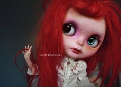G.Baby OOAK Custom Blythe doll Saffron by bebebentley on Etsy