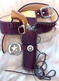Gun belt, holster