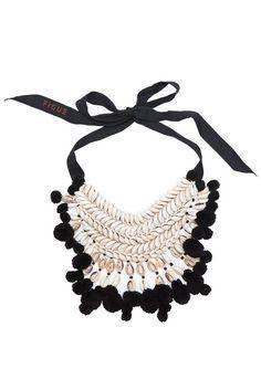 Figue Malo Necklace in Black (figue.com, $350)